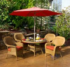 patio dining: patio dining set with umbrella ideas