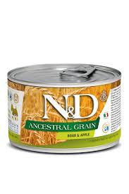 <b>Farmina N&D Adult</b> Dog Mini Ancestral Grain <b>консервы</b> для ...