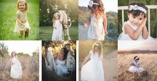 Ellura Sage - Boho Flower <b>Girl Dresses</b>, <b>Lace Flower</b> Girl Dresses