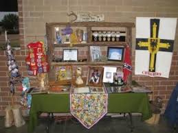Eagle Scout Court of <b>Honor Memory</b> table - some really cute ideas ...