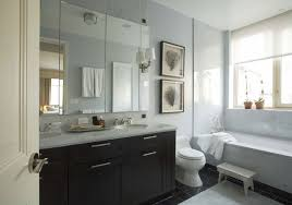 bathroom white sinks espresso cabinet black framed  images about bathroom on pinterest contemporary bathrooms recessed sh