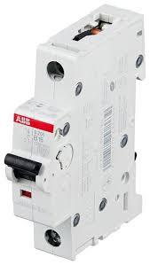 <b>Автоматический выключатель</b> ABB <b>S201</b> 1P (B) 6kA — купить по ...