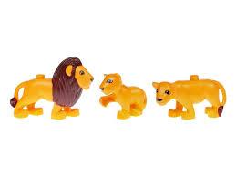 <b>Конструктор Hongyuansheng toys Animal</b> World, Львы купить в ...