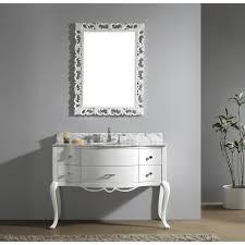 usa tilda single bathroom vanity set:  inch vintage bathroom vanity white finish