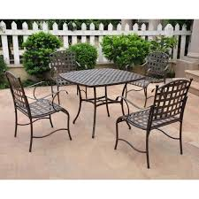 wrought iron patio furniture x interesting patio design with wrought iron lowes patio