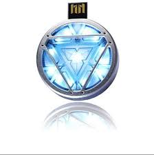 <b>2016Hot</b> ! <b>sale</b> Iron MAN 3 ARC REACTOR LED Flash USB Flash ...