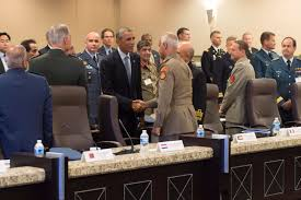 u s department of defense photo essay u s president barack obama meets military leaders from 21 nations to discuss strategy in the