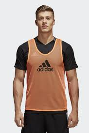 <b>Манишка</b> мужская <b>Adidas</b> Trg <b>BIB 14</b>, цвет: оранжевый. F82133 ...