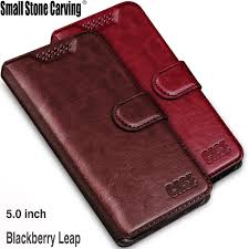 For Blackberry Leap Case <b>Luxury Wallet PU Leather</b> Case Cover ...