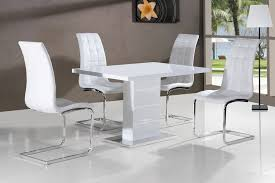 white gloss dining room white high gloss dining table sale vidrian