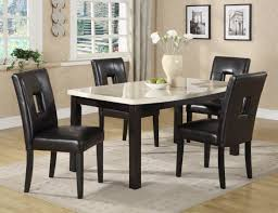 Transitional Dining Room Furniture Nayri Black Glass Top Glass Dining Room Tables