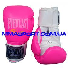 Купить <b>женские боксерские перчатки</b> розовые EVERLAST PINK ...
