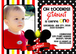 mickey mouse birthday invitations ideas best invitations card ideas mickey mouse birthday invitations picture
