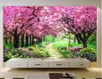 Wholesale Garden <b>Mural Wallpaper</b> for Resale - Group Buy Cheap ...