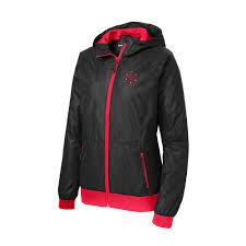 bullseye shop special requests sport tek® ladies embossed pattern picture of sport tek® ladies embossed pattern hooded wind jacket