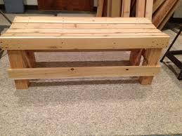 interesting cedar bench plans