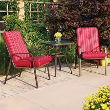 crossman piece outdoor bistro: mainstays lawson ridge  piece outdoor bistro set seats  walmartcom