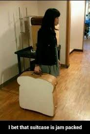 I Bet That Suitcase Is Jam Packed | WeKnowMemes via Relatably.com