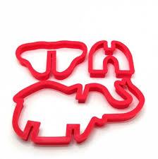 [42% OFF] 10PCS Jungle <b>Animal Plastic</b> Cake <b>Mold</b> Cutter <b>Fondant</b> ...
