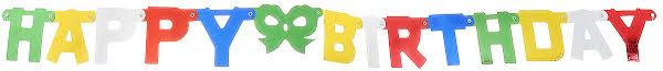 <b>Action</b>! <b>Гирлянда</b>-буквы С Днем Рождения!