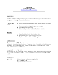 resume example sample culinary resume objective entry level pastry chef resume sample 43 pastry chef resume objective