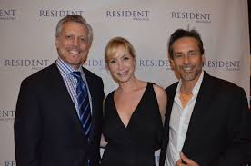 resident magazine holds party to celebrate entertainment dr steven j pearlman donna graziano and larry r o photo james edstrom