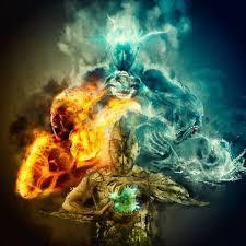 Resultado de imagem para terra agua ar fogo