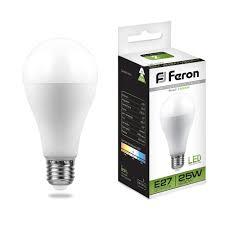<b>Лампа светодиодная</b> Feron LB-100 Шар E27 <b>25W</b> 4000K 25791 по ...