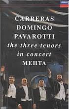 <b>Carreras</b>, <b>Domingo</b>, <b>Pavarotti</b> in concert. (Musical CD, 1990 ...