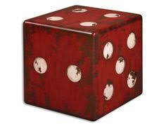tuscan distressed burnt red dice table ivory accents burnt red with antiqued ivory accents and walnut wood undertones accessories on top are not included burnt red home office