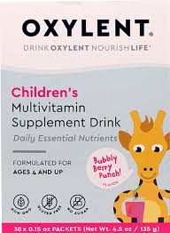 Vitalah <b>Oxylent</b> Children's <b>Multivitamin Supplement Drink</b> Bubbly ...