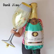 <b>36 inch Large</b> Champagne Wine Bottle Cup Wedding Anniversary ...