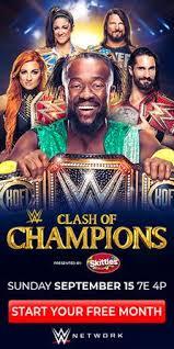 Clash of Champions (2019) - Wikipedia