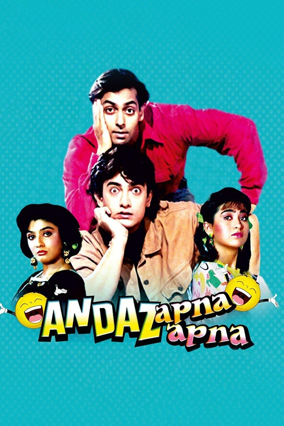 Download Andaz Apna Apna (1994) Hindi Movie 480p | 720p