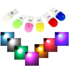 <b>Ceramic</b> T10 W5W LED Bubbles amber white blue red yellow green ...