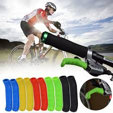 <b>1 Pair Cycle</b> Bicycle Mountain Bike Brake Lever Grip Protectors ...