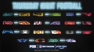 Thursday Night Football Schedule 2019
