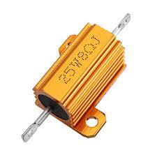 <b>3pcs rx24 25w</b> 8r 8rj metal aluminum case high power resistor ...