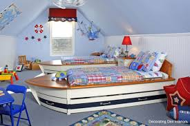 bedroom columbia blue child bedroom come with white fiberglass captain bed with brown wood plat charming kid bedroom design decoration