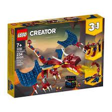 Купить <b>конструктор LEGO Creator Огненный</b> дракон 31102 в ...