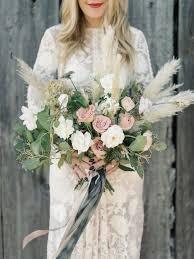 flowers wedding decor bridal musings blog: boho bouquet gorgeous pampas grass ideas for your wedding bridal musings wedding blog