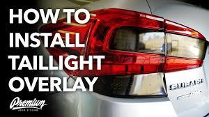 How To Install <b>Taillight</b> Vinyl Overlays (DIY Any <b>Car</b>) - YouTube