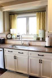 sink windows window love: nifty kitchen window treatment idea also love the double window sill for storage
