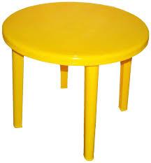 Купить стол садовый Стандарт Пластик Групп, <b>90х71 см</b> Желтый ...