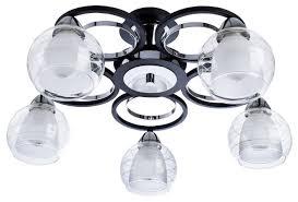 Люстра <b>Arte Lamp</b> GINEVRA <b>A1604PL</b>-<b>5BK</b>, E14, 200 Вт — купить ...