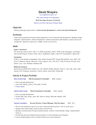 It Resume Objective Examples  resume template resume examples best     happytom co