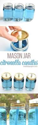 these mason jar citronella candles are really easy and they really keep the bugs away beautiful classic mason jar