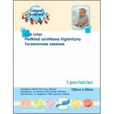 Гигиеническая <b>клеенка Canpol</b> babies для <b>кроватки</b> 120х50 ...