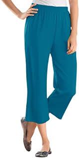Woman Within Women's <b>Plus</b> Size <b>7</b>-<b>Day</b> Knit Capri Pants at ...