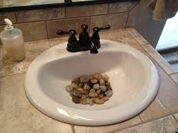 feng shui bathroom nature vanities river rocks in the bathroom sink a little feng shui but a neat way to